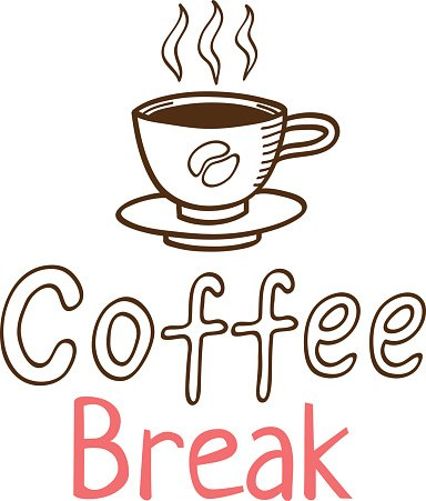 Coffee break clipart jpg Coffee Break Vintage Logo premium clipart - ClipartLogo.com jpg