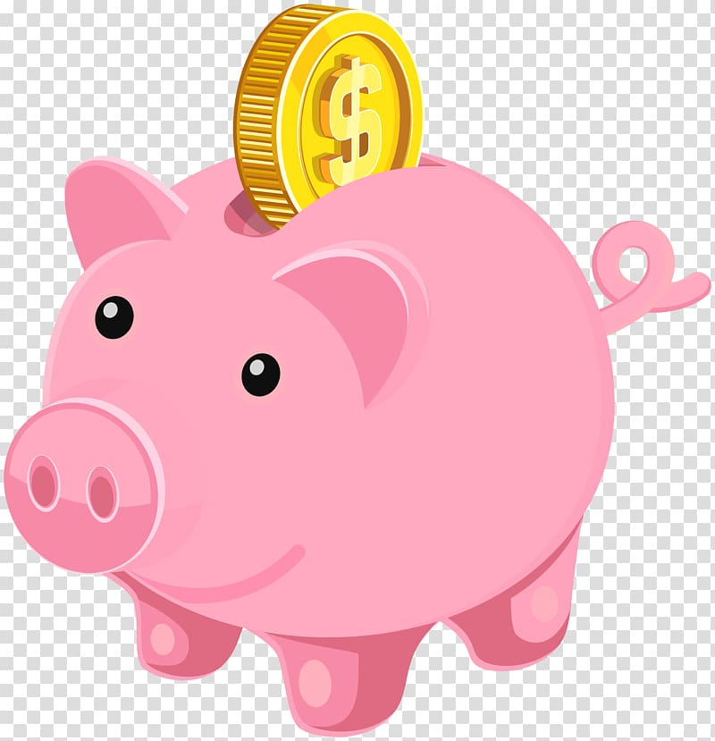 Clipart coin with a pig on it picture library download Piggy bank Coin , Piggy Bank , bitcoin on coin bank sticker ... picture library download