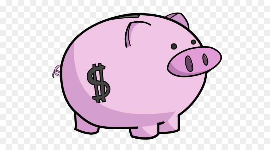 Clipart coin with a pig on it graphic library download Cartoon Money clipart - Pig, Bank, Coin, transparent clip art graphic library download
