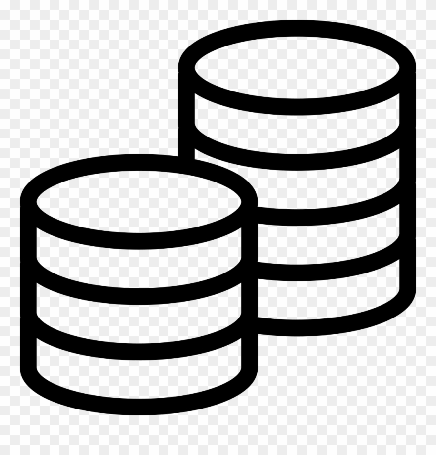 Clipart coins black and white svg transparent download Arrival Amount Comments - Black And White Coins Clipart Png ... svg transparent download