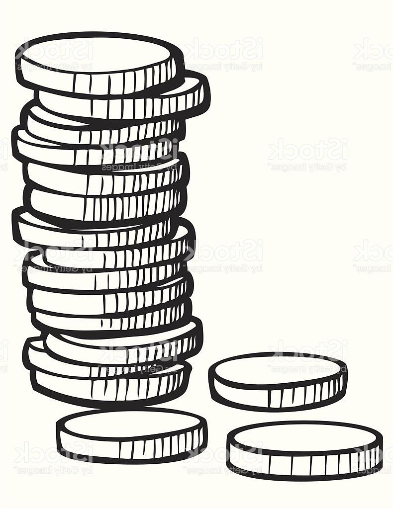Clipart coins black and white picture royalty free stock Coins Black And White | Free download best Coins Black And White on ... picture royalty free stock