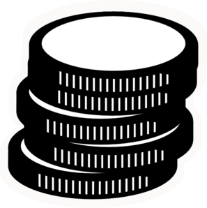 Clipart coins black and white banner royalty free download Free Coin Clip Art, Download Free Clip Art, Free Clip Art on Clipart ... banner royalty free download