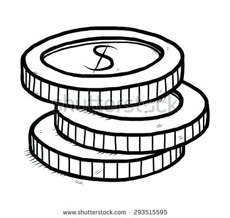 Clipart coins black and white clipart library download clipart of coins – artsoznanie.com clipart library download