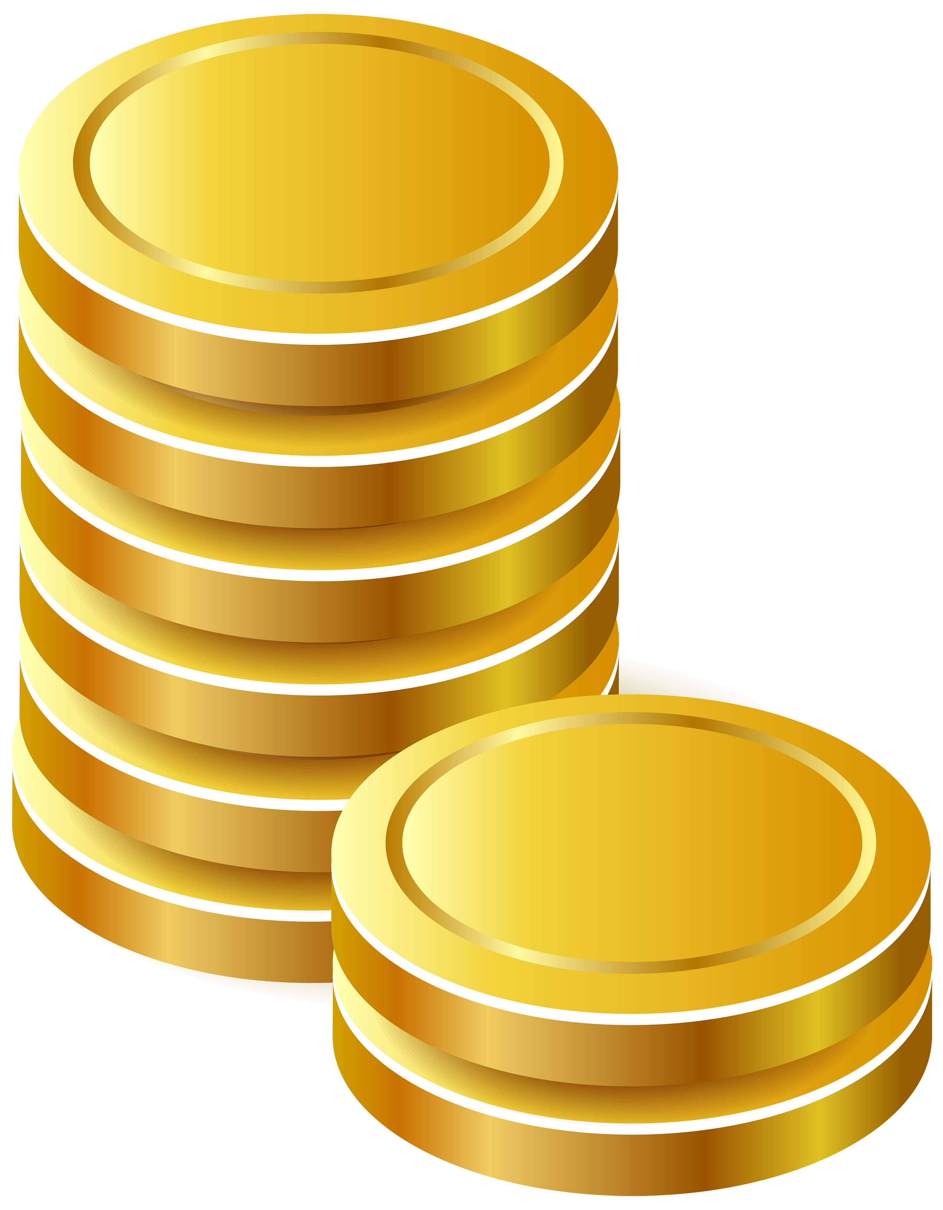 Gold money chain clipart with transparent backound graphic freeuse stock Gold Coins PNG Clipart - Best WEB Clipart graphic freeuse stock