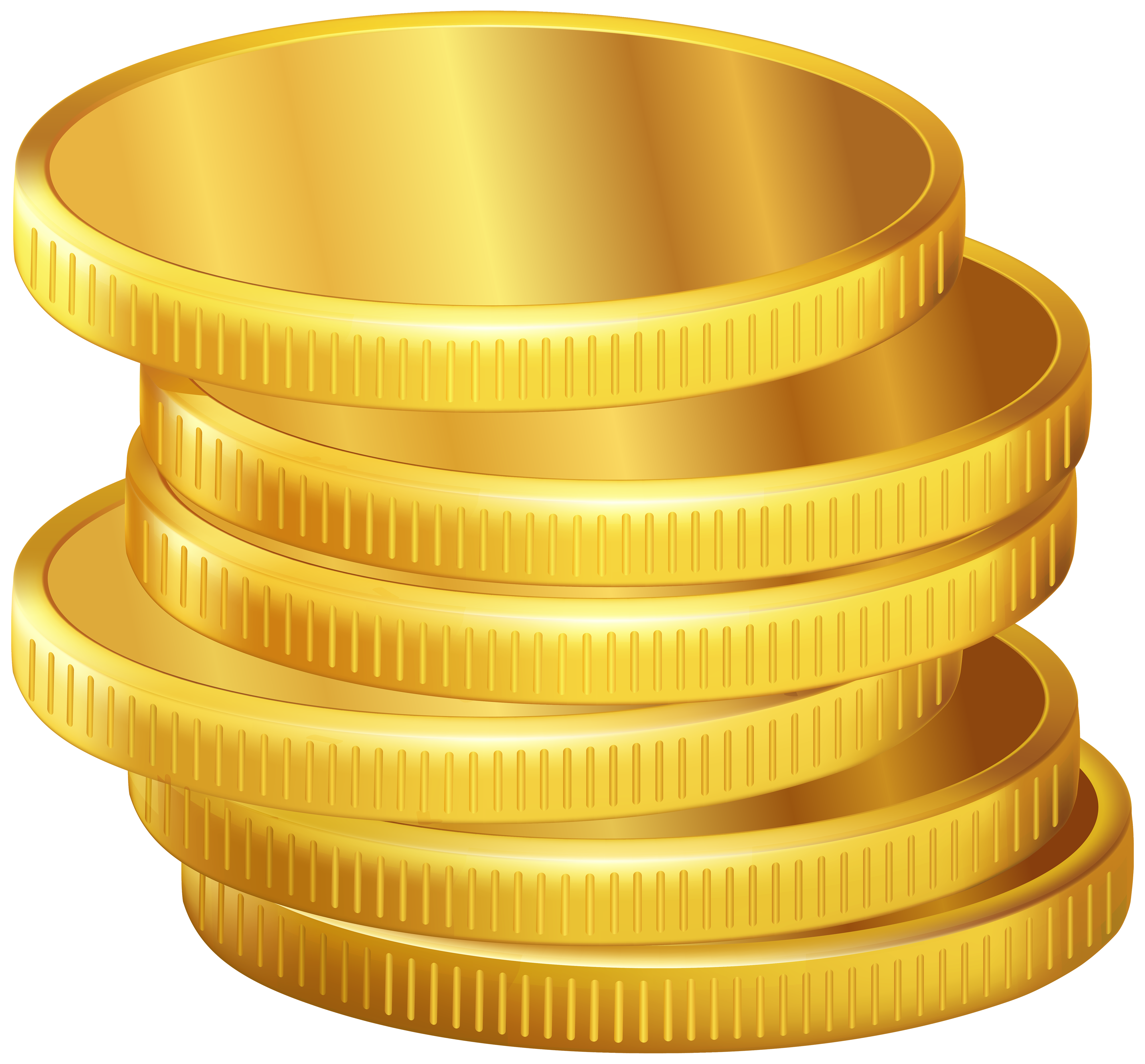 Coins money clipart graphic transparent library Golden Coins PNG Clipart - Best WEB Clipart graphic transparent library