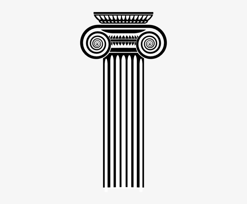 Clipart coiulnn royalty free library Image Royalty Free Stock Column Clipart Ionian - Roman Column Art ... royalty free library