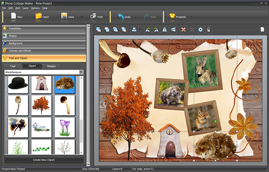 Clipart collage maker jpg freeuse download Photo Collage Maker - Clipart Collecion jpg freeuse download
