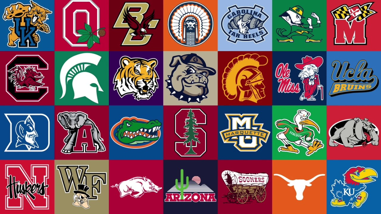 Clipart college mascots banner library Top 5 Live College Mascots banner library