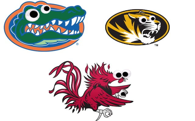 Clipart college mascots picture black and white Crafting, college football style: Mascots get weird with googly eyes ... picture black and white