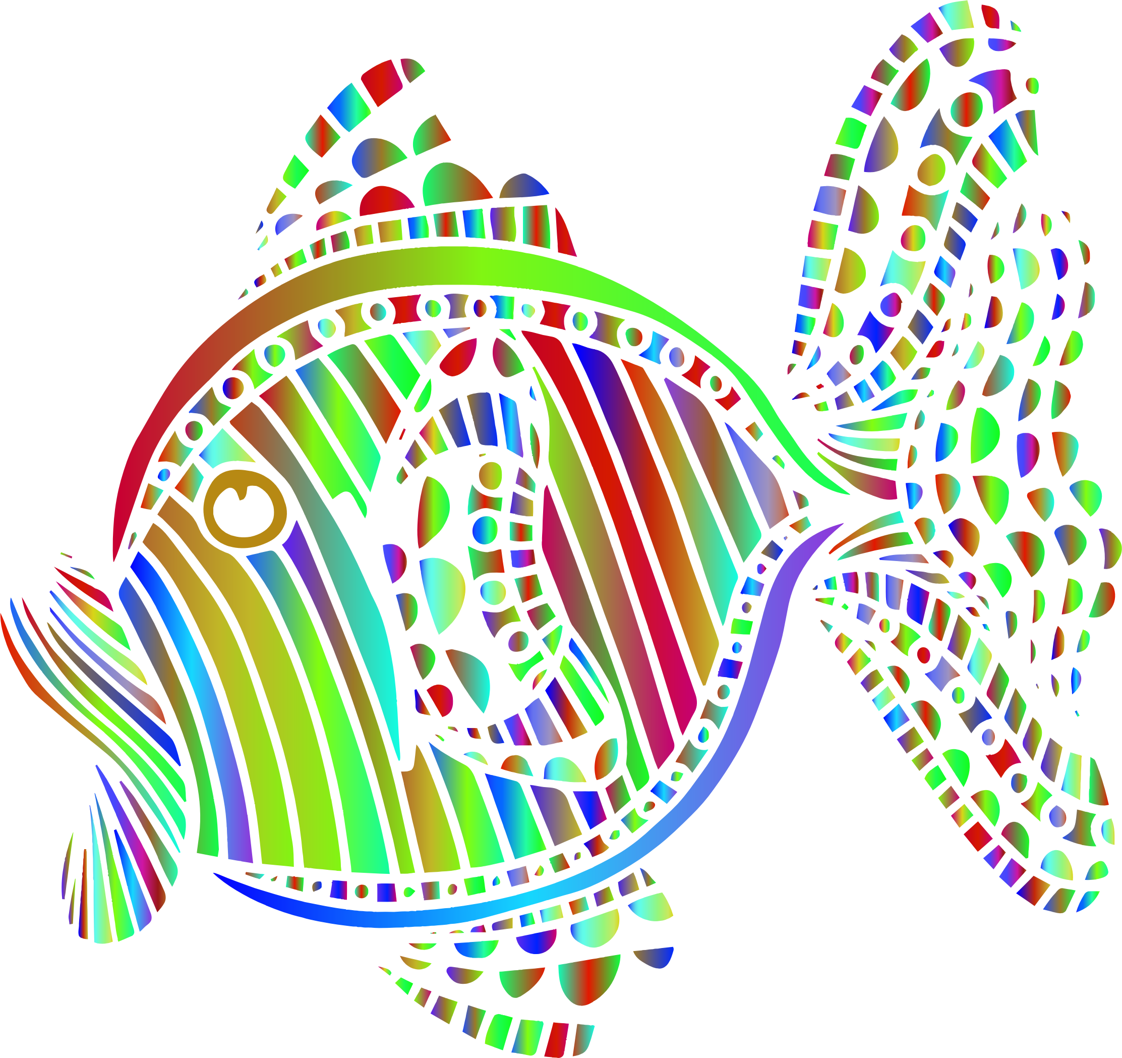 Colorful fish clipart png royalty free Clipart - Abstract Colorful Fish 7 png royalty free