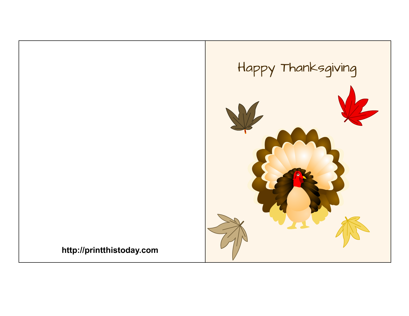 Thanksgiving quote clipart clipart royalty free stock Free Printable Thanksgiving Cards clipart royalty free stock