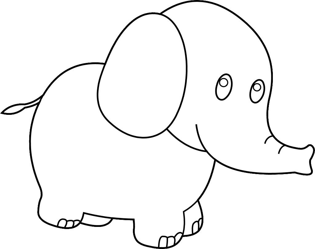 Clipart coloring pages svg royalty free coloring ~ Cute Babyephant Coloring Pages With Clipart Panda Free ... svg royalty free
