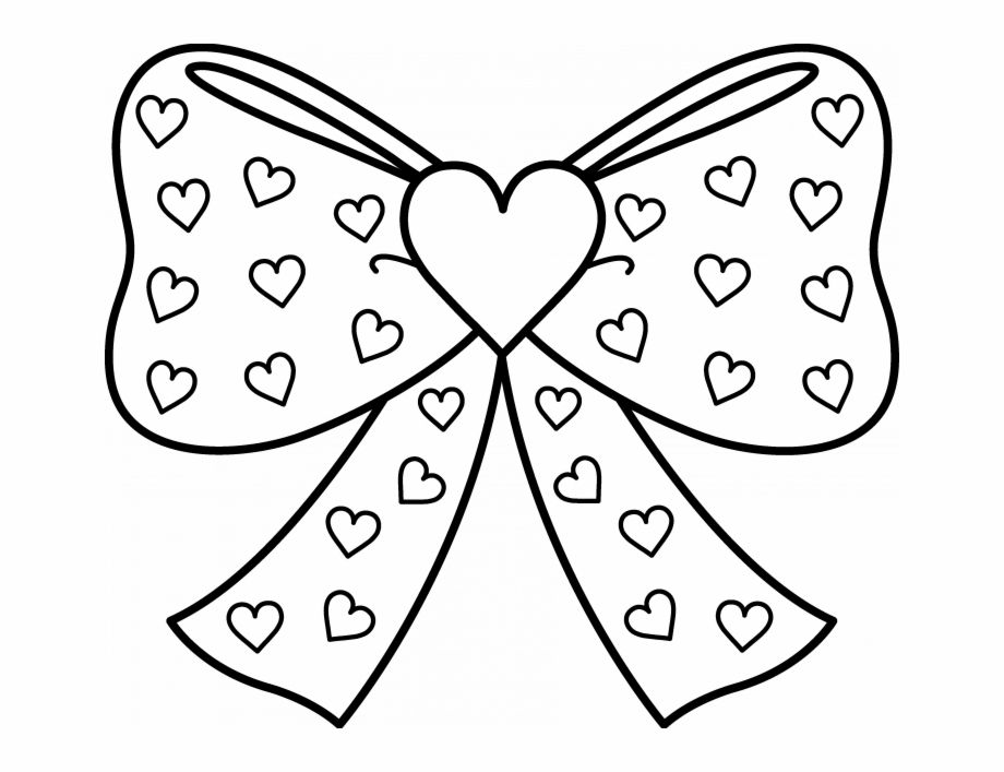 Clipart coloring pages clip art black and white library Candy Heart Printable Coloring Pages - Jojo Siwa Coloring Pages Free ... clip art black and white library