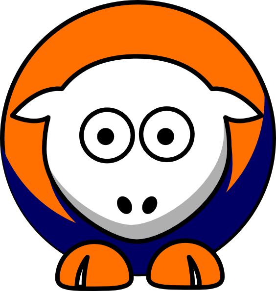 Clipart colors sun picture free download Sheep Bucknell Bison - Team Colors - College Football Clip Art at ... picture free download
