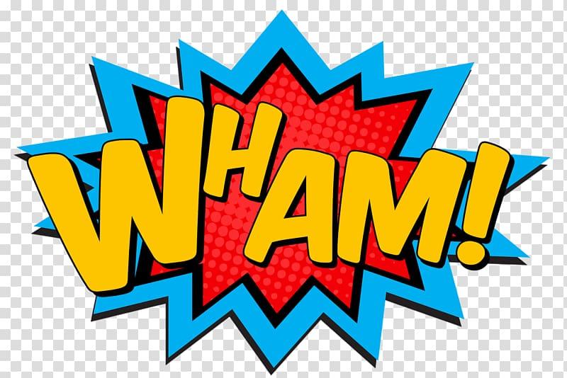 Clipart comic book picture transparent library Wham! text illustration, Superman Pop art Superhero Comic book ... picture transparent library