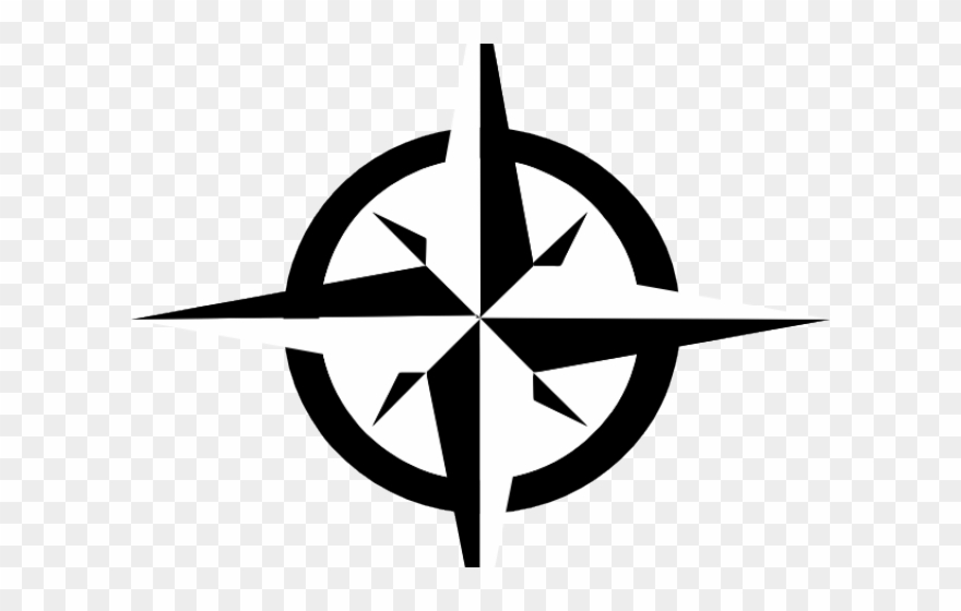Clipart compass clip free stock Starburst Clipart Compass Star - Compass Clip Art - Png Download ... clip free stock