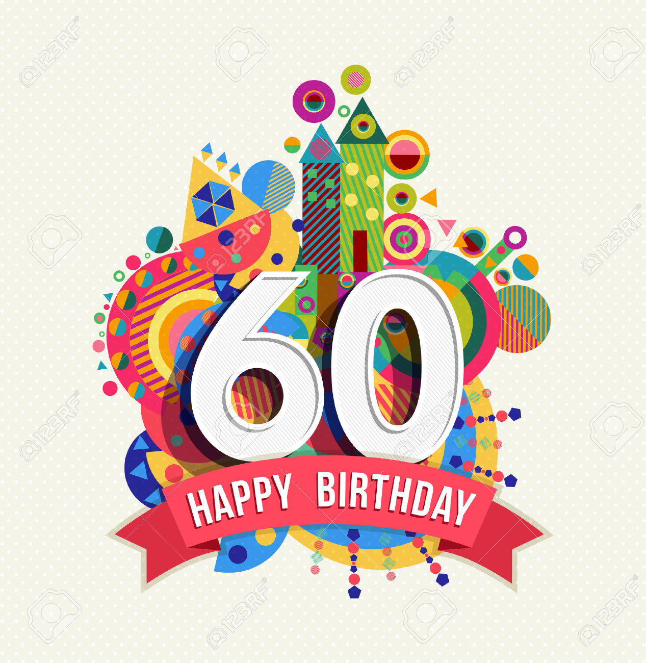 Library Of Banner Free Compleanno 60 Anni Png Files Clipart