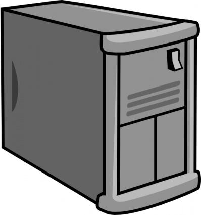 Clipart computer cover clip transparent download Computer case clipart - ClipartFest clip transparent download