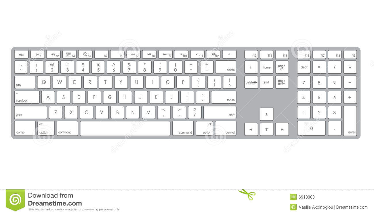 Black and white kid. Clipart computer keyboard