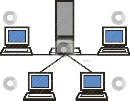 Clipart computer network picture transparent library Computers network | Clipart Panda - Free Clipart Images picture transparent library
