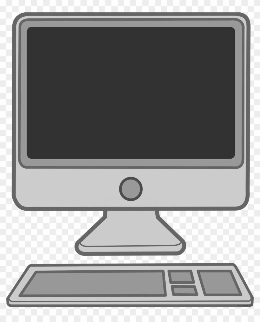 Desktop mac clipart