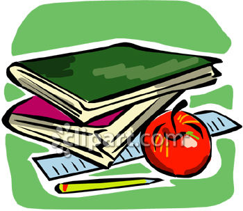 Clipart coms pictures vector freeuse Ruler and textbook clipart image | Clipart.com vector freeuse