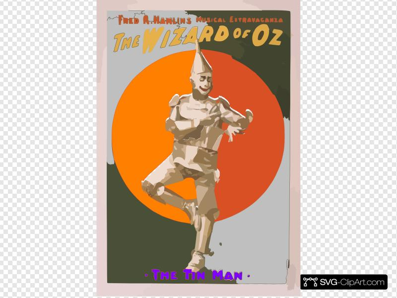 Clipart coms pictures royalty free library Tin Man For Coms 106 Clip art, Icon and SVG - SVG Clipart royalty free library
