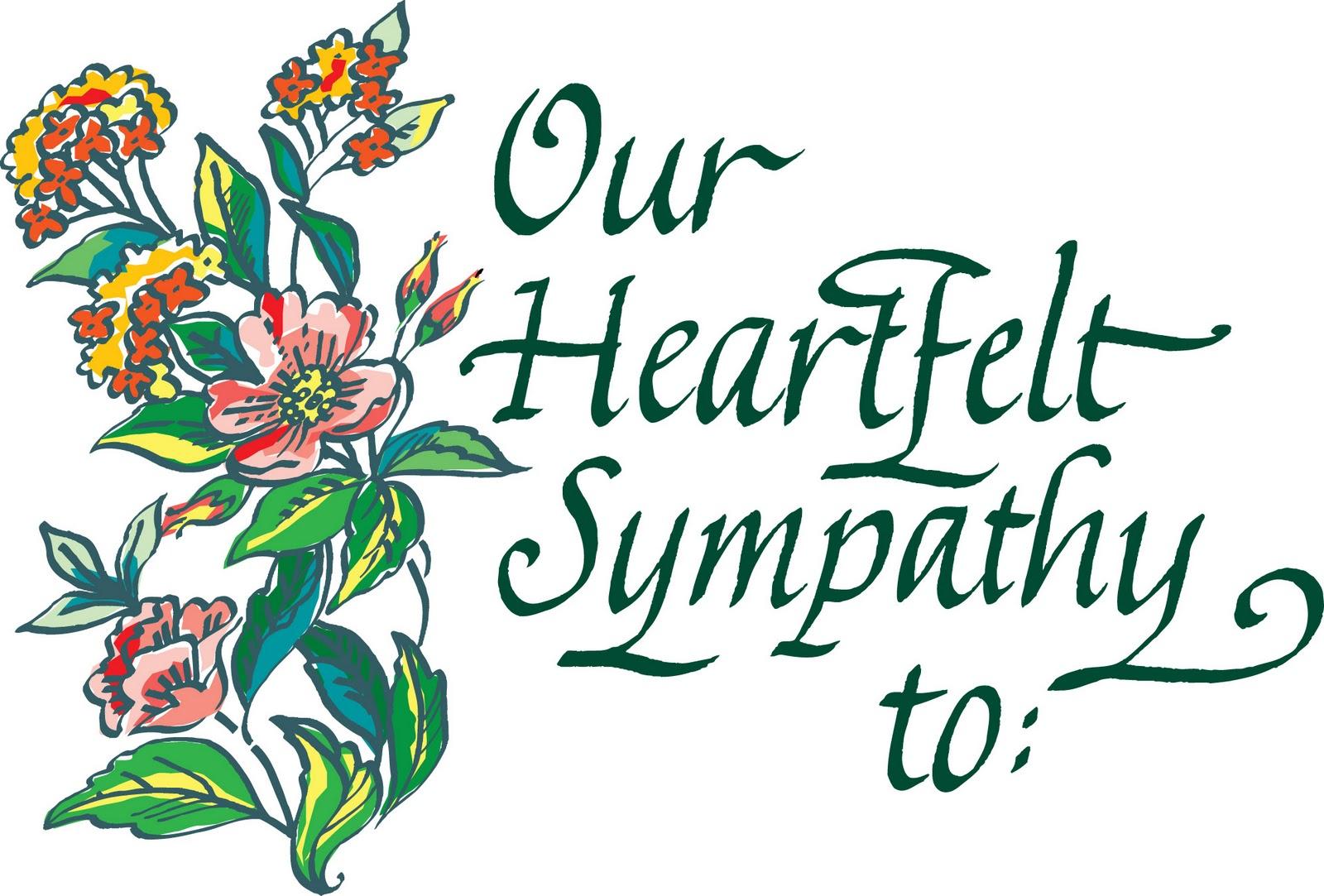 Clipart condolences graphic stock Condolences Sco clipart free image graphic stock