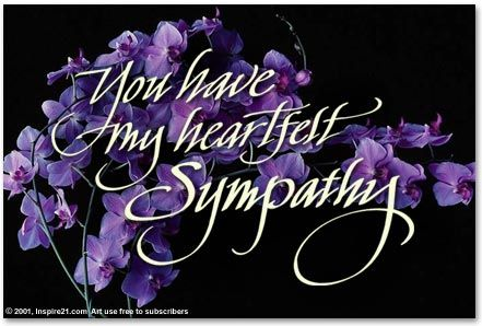 In sympathy clipart banner black and white download Sympathy Flowers Clip Art | Sympathy Pictures My heart felt sympathy ... banner black and white download