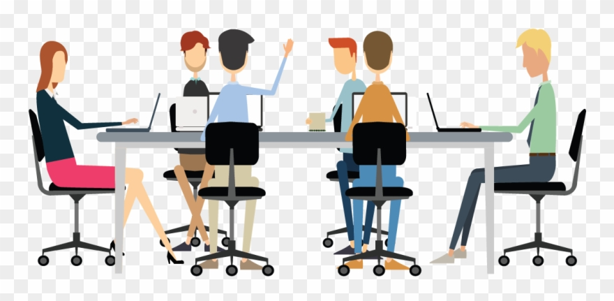 Clipart conference image royalty free download Download Free png Conference Clipart Office Meeting Meeting Planning ... image royalty free download