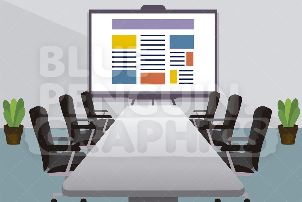 Clipart conference room vector royalty free library Conference Room Graphic Background Clipart vector royalty free library