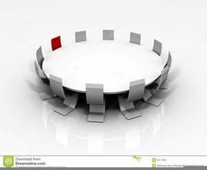 Conference table clipart graphic library Conference Table Clipart | Free Images at Clker.com - vector clip ... graphic library
