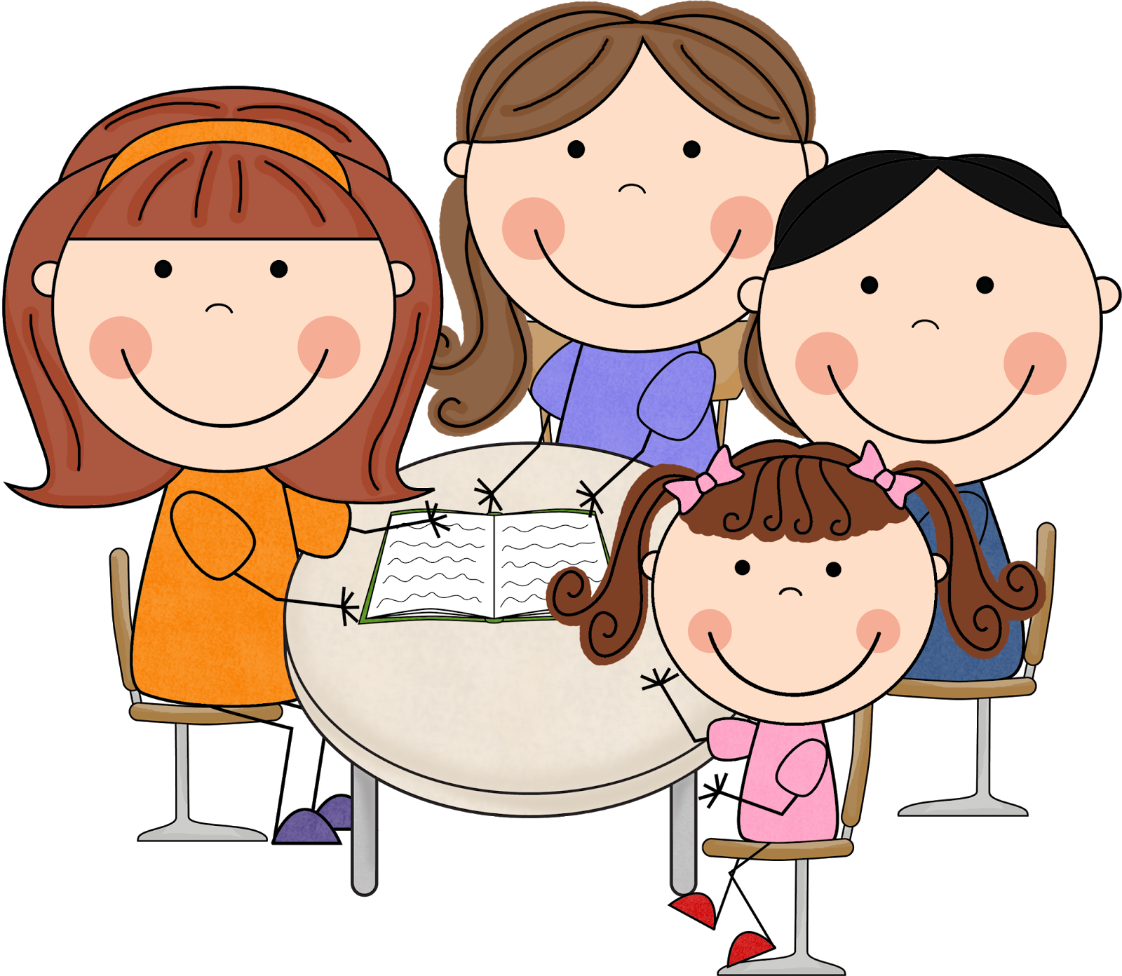 Parent conferences clipart