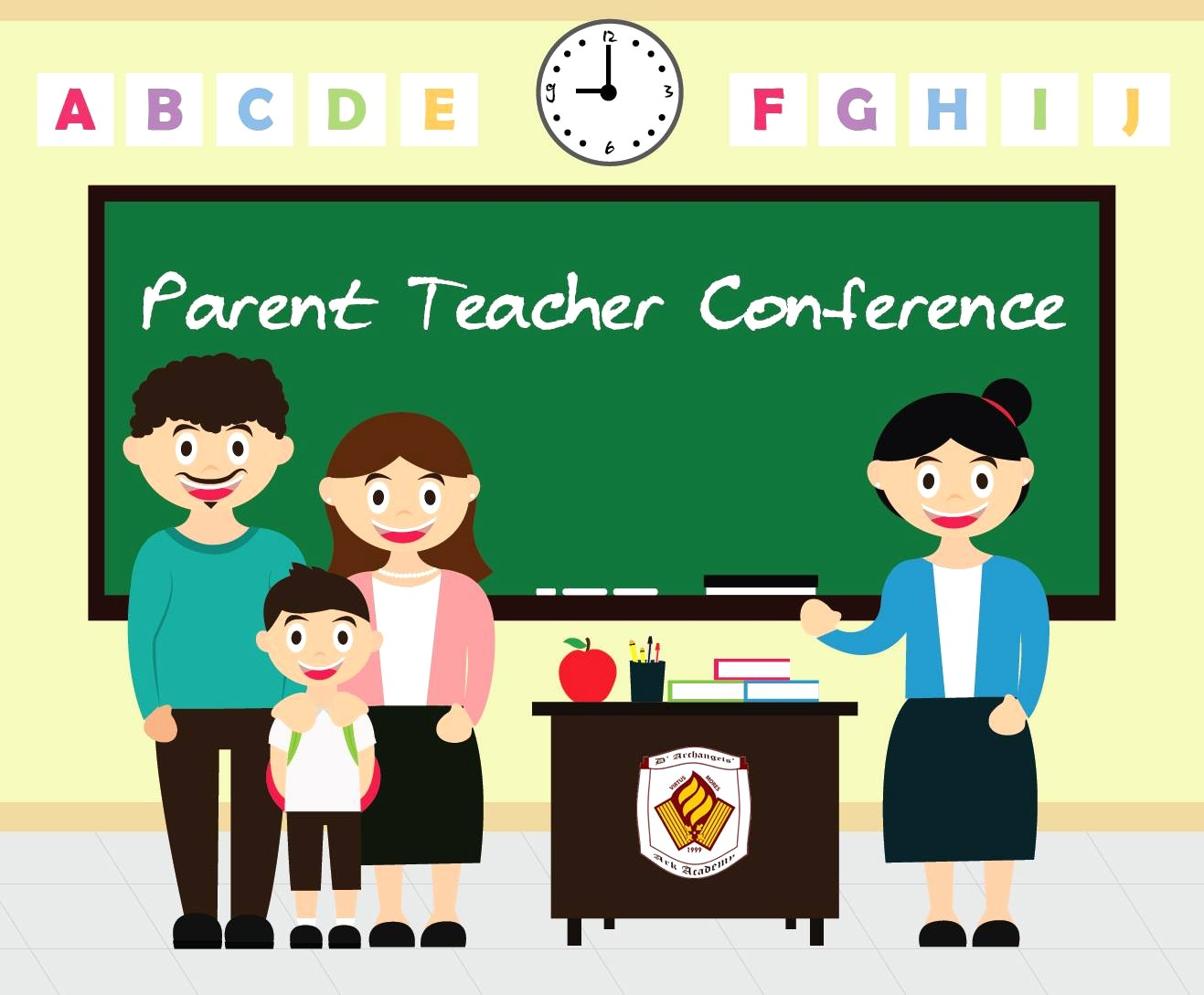 Teachers meeting clipart banner royalty free library Parent conferences clipart 1 » Clipart Station banner royalty free library