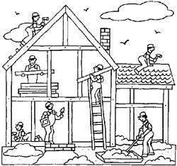 Construction black and white clipart images jpg freeuse Free Construction Clipart Black And White, Download Free Clip Art ... jpg freeuse
