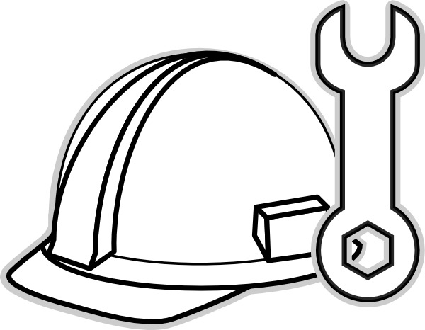 Construction black and white clipart images clip art free download Construction Worker Clipart Black And White   Free download best ... clip art free download