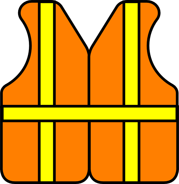Construction site clipart jpg free library Construction Vest clip art - vector clip art online, royalty free ... jpg free library