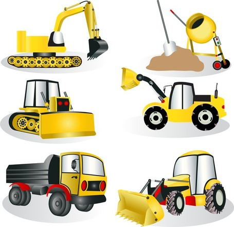 Clipart construction site vector black and white download Construction Site Equipment, Clip Art - Clipart.me vector black and white download