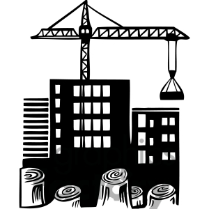 Clipart construction site free stock Construction site clipart - ClipartFest free stock