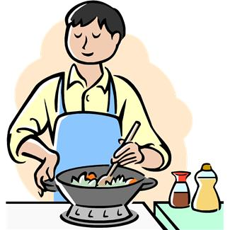 Image of a boy who stirs and cooks clipart jpg royalty free Cooking Clipart & Look At Clip Art Images - ClipartLook jpg royalty free