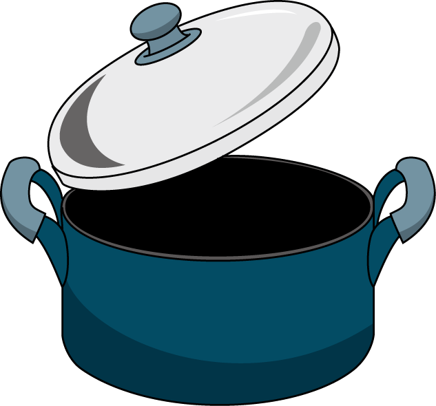 Free printable blackline clipart of a pot lid image library library Cooking pot clipart 7 » Clipart Station image library library
