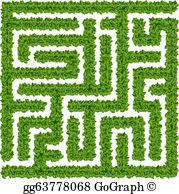 Clipart corn maze vector free library Corn Maze Clip Art - Royalty Free - GoGraph vector free library