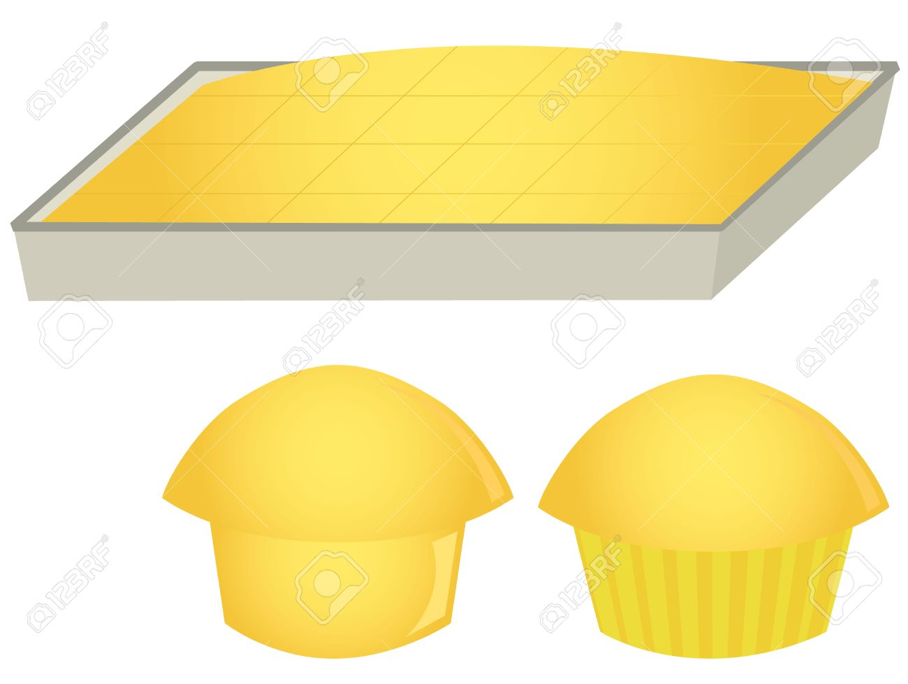 Clipart cornbread picture royalty free library Cornbread and muffins » Clipart Station picture royalty free library