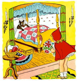 Clipart cottage little red riding hood image transparent library Little Red Riding Hood Story - Page 7 image transparent library