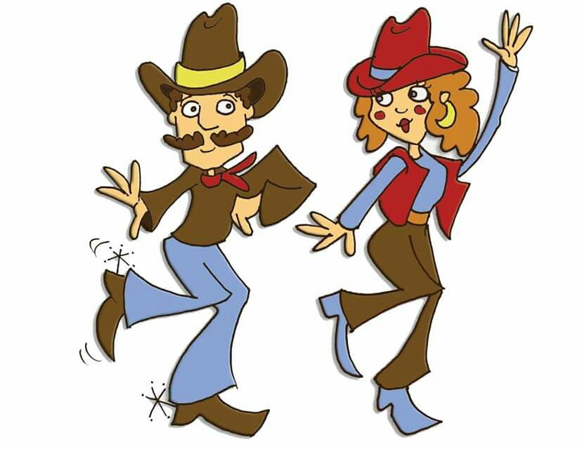 Clipart country dance picture Pin by DANCING COWGIRL DESIGN on LINE DANCE   Dancing clipart ... picture
