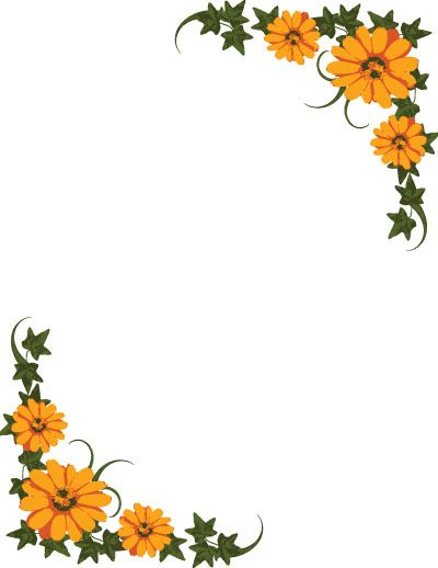 Clipart cover page banner royalty free printable cover page flower design - Recherche Google | DIY ... banner royalty free