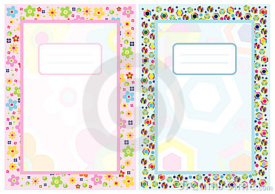 Clipart cover page banner transparent stock Notebook Cover Page Stock Photography - Image: 17701092 banner transparent stock