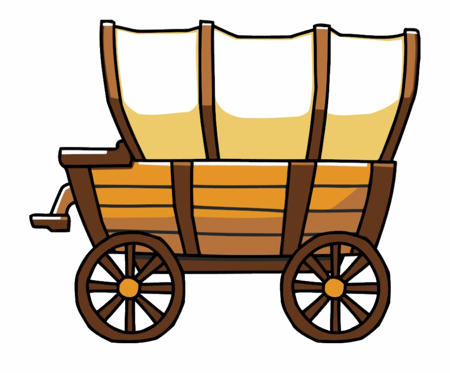 Png transparent images . Free covered wagon clipart