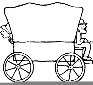 Free clipart covered wagon vector freeuse download Lds Covered Wagon Clipart | Free Images at Clker.com - vector clip ... vector freeuse download