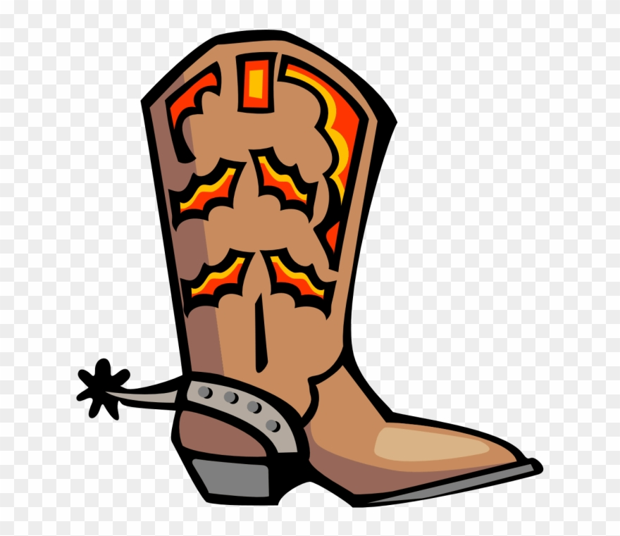 Clipart cowboy boot image royalty free download Clip Art Cowboys - Clip Art Cowboy Boot - Png Download (#6231 ... image royalty free download